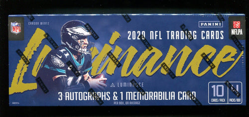 2020 Panini Luminance Football Hobby Pack
