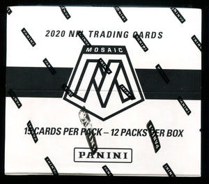 2020 Mosaic Football Cello Box Random Divisional Break #2
