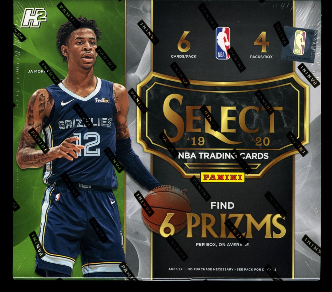 2019-20 Panini Select Hybrid Basketball Pack