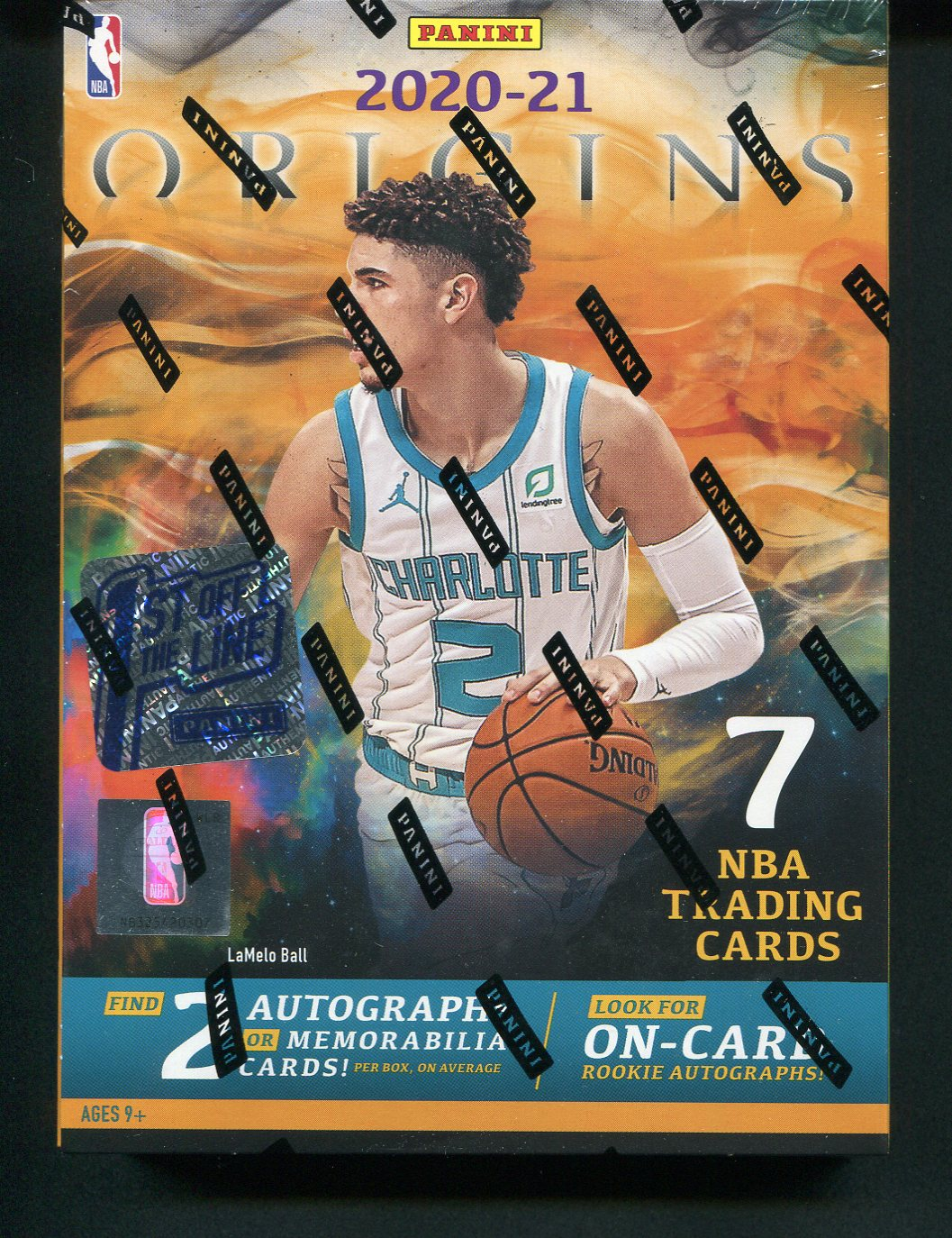 2020/21 Panini Origins 1st Off The Line FOTL NBA Hobby Box