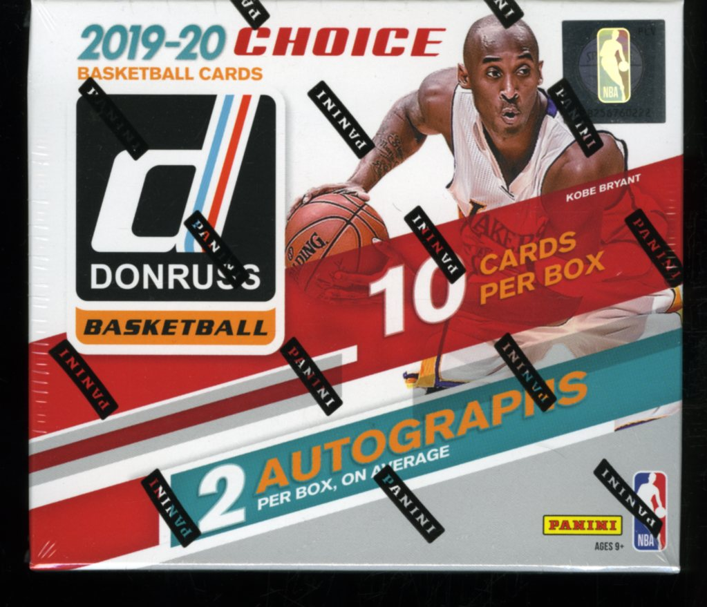 2019/20 Panini Donruss Choice Basketball Box