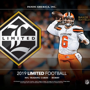 2019 Panini Limited Football Hobby Box