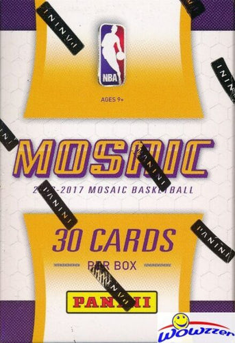 2016/17 Panini Prizm Basketball Mosaic Box