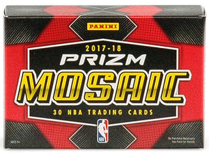 2017/18 Panini Prizm Mosaic Basketball Box