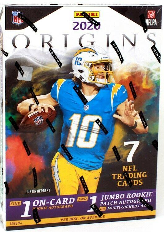 2020 Panini Origins Football Hit Draft