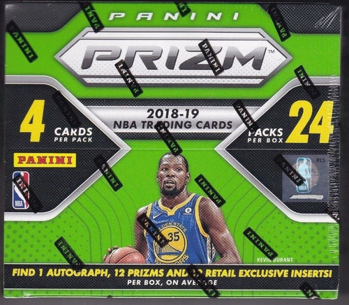 2018/19 Panini Prizm Basketball Retail Box