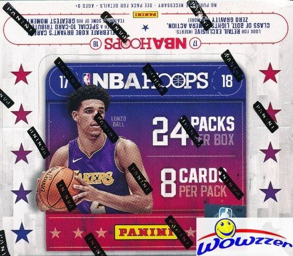 2017/18 Panini NBA Hoops Basketball Retail Box