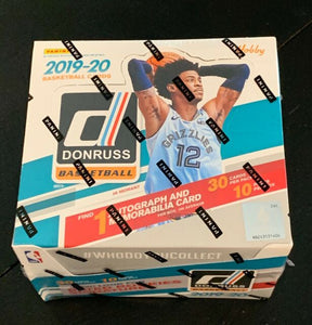 2019/20 Panini Donruss Basketball Hobby Box Factory SEALED