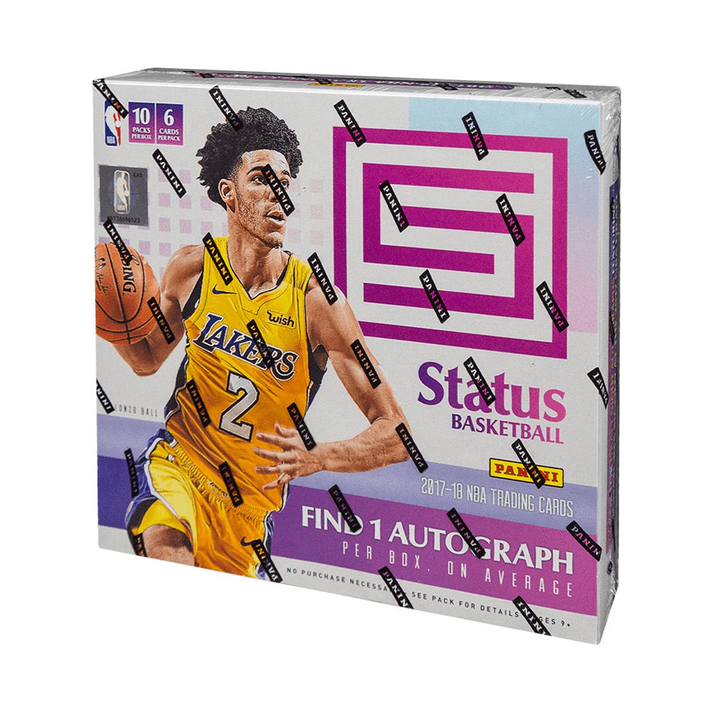 2017/18 Panini Status Basketball Hobby Box