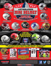 Load image into Gallery viewer, 2019 TRISTAR HIDDEN TREASURES FOOTBALL MINI HELMET BOX