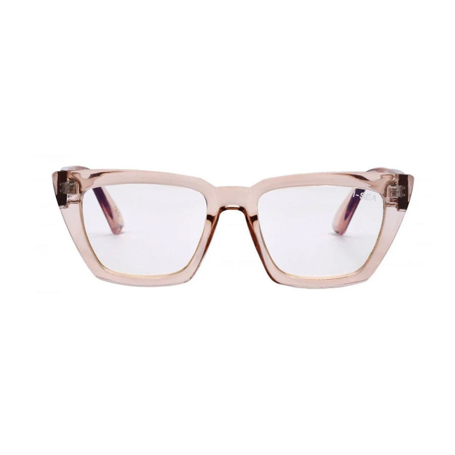 I-SEA Amelia Blue Light Glasses -  Taupe