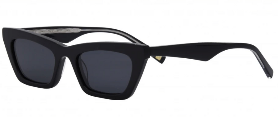 I-SEA Sea Siren Sunglasses -  Black