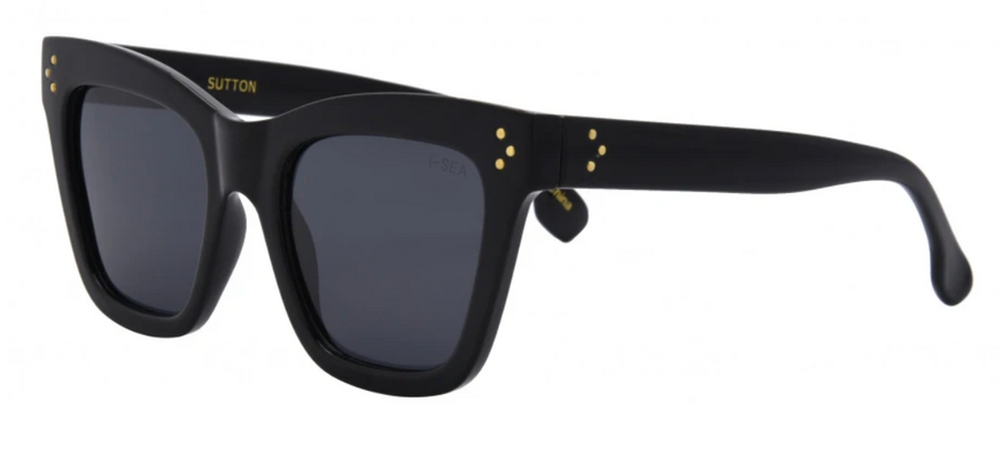 I-SEA Sutton Sunglasses -  Black