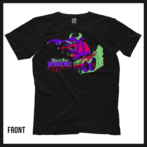 2020 Music Box of Horrors Official Tee