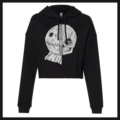 Ladies Cropped Hoodie- SAM