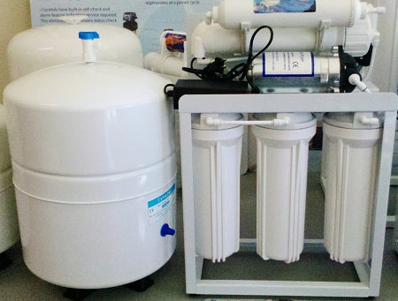 Light Commercial Reverse Osmosis Water Filter System 150-14G Tank - Titan Water Pro