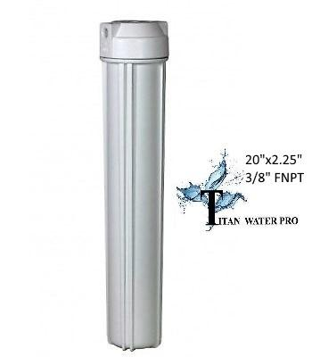 "Water Filter Housings 20"" x 2.5"" RO/Drinking Water Filter Housings for 20"" x 2.5"" Filter Cartridges - Titan Water Pro"