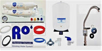 RO Water Compact Reverse Osmosis Water Filtration Apartment,RV TFC-1812-50 GPD - Titan Water Pro