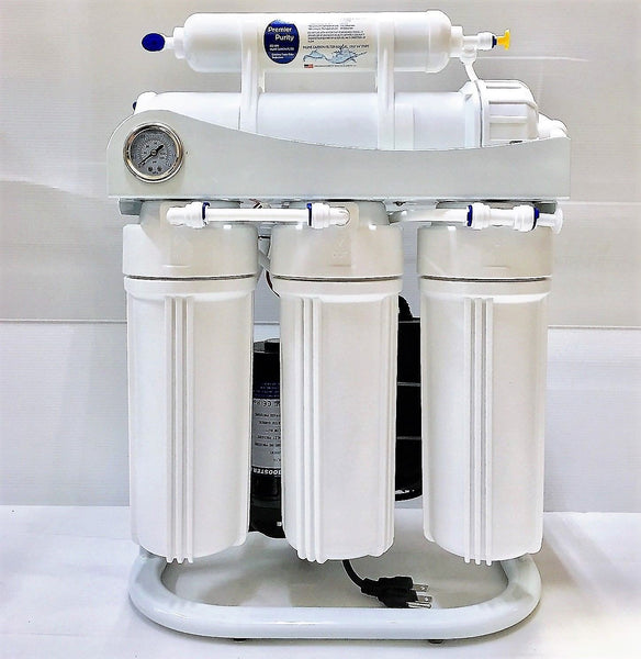 RO-Light-Commercial-Reverse-Osmosis-Water-Filter-System-400-GPD-Booster-Pump TWP400 Membrane - Titan Water Pro