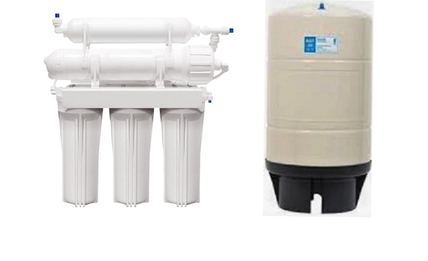 Reverse Osmosis Water Filter System - 5 Stage - 20 Gallon RO Tank - Titan Water Pro
