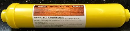 "Water Mineral Filter - Remineralizer Water Filter ALMB-10 2"" x 10"" 1/4""FNPT - Titan Water Pro"