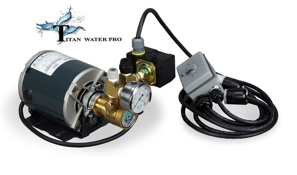 High Pressure Booster Pump for HF5-4014 or HF5-4021 (600 & 1000 GPD) Membrane RO Systems - Titan Water Pro
