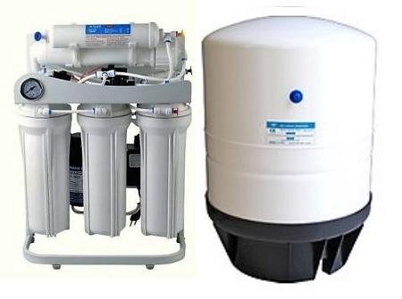 RO-Light-Commercial-Reverse-Osmosis-Water-Filter-System-300-GPD-Booster-Pump-PG  ROT-14 Gallon Tank - Titan Water Pro
