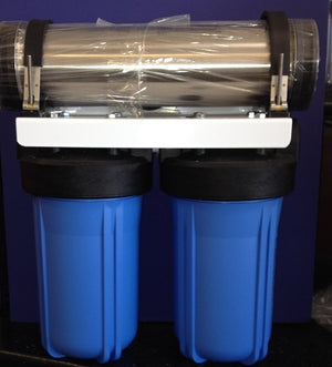 Counter Top Triple Stage-Carbon/Fluoride Removal/KDF-multi media Filtration - Titan Water Pro