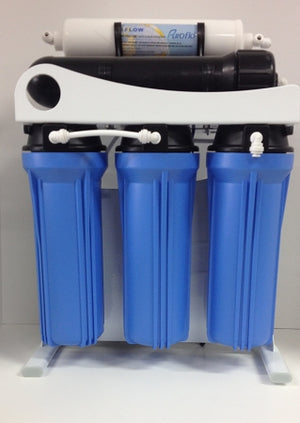 Light Commercial Reverse Osmosis Drinking Water Filter System 400 GPD-Booster Pump - Titan Water Pro