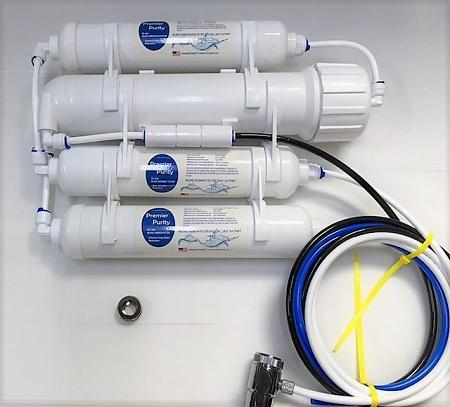 Reverse Osmosis Portable Mini Water Filter System 75GPD 4Stage - Titan Water Pro