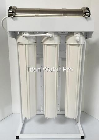 RO Reverse Osmosis Water Filter System 600 GPD 1:1 Ratio High Flow Made in USA - Titan Water Pro
