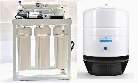 RO Light Commercial Reverse Osmosis Water Filter System 300 GPD - Titan Water Pro