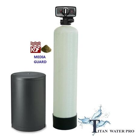 Whole House Water Softener & Conditioner With KDF 55 MediaGuard FS56 - Titan Water Pro