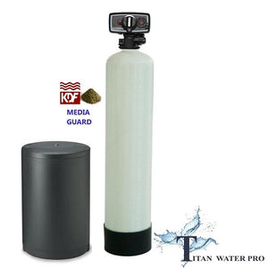 Whole House Water Softener & Conditioner With KDF MediaGuard KDF85 - Well Water - Titan Water Pro
