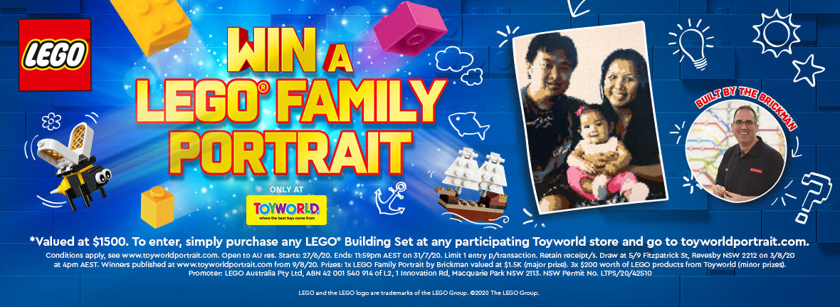 Toyworld Exclusive Lego Competition
