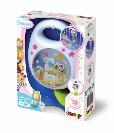 Smoby Cotoons Music Box Pink/Blue