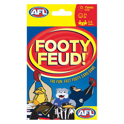 AFL Footy Feud Card Game