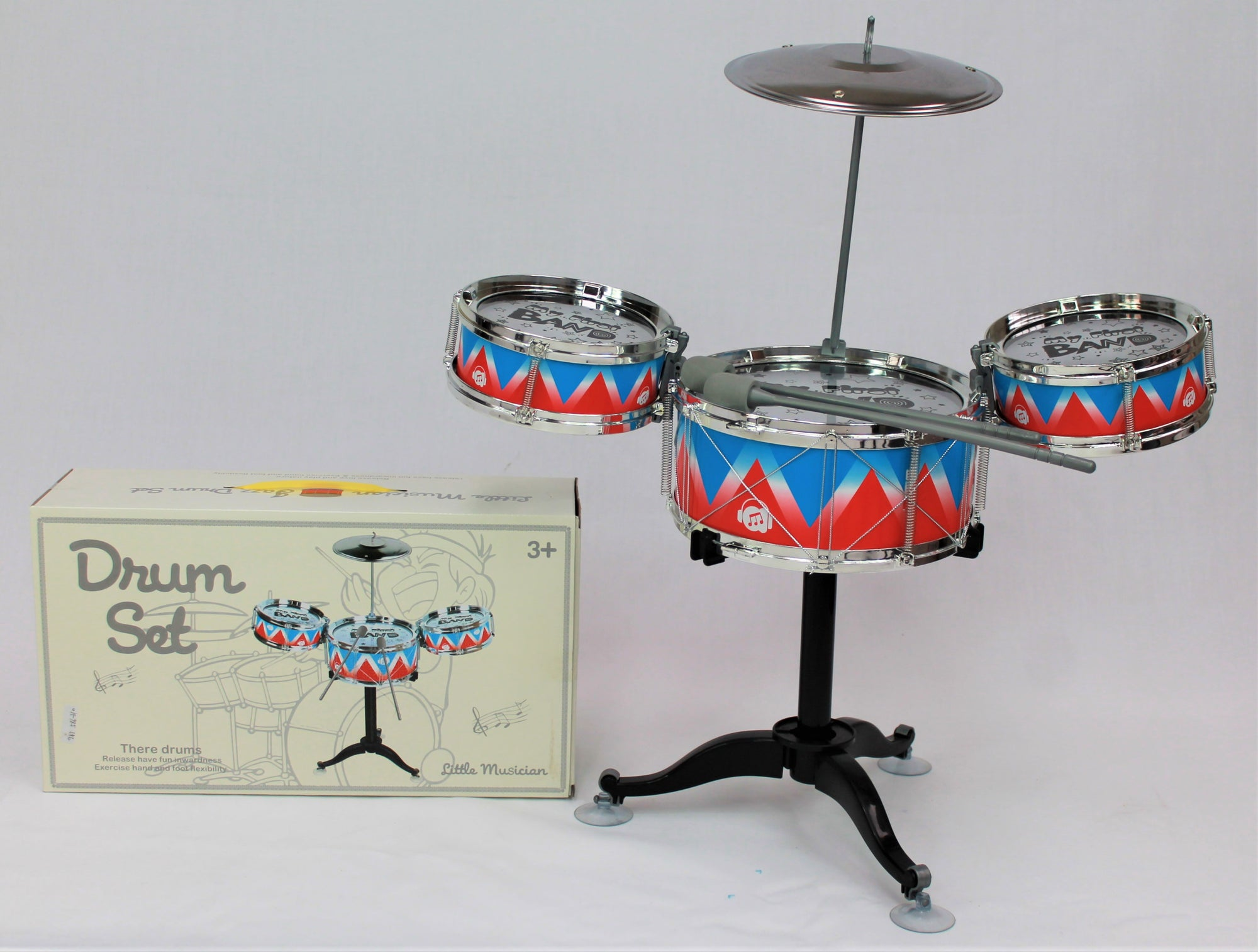 Stand Up 4pce Drum Set