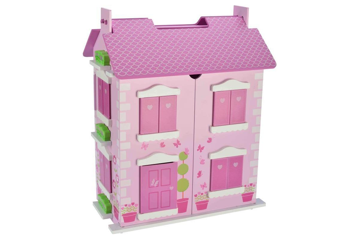 Bubbadoo Pastel Doll House