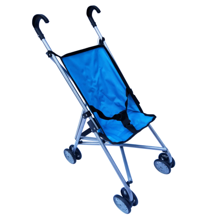 Playworld Doll Umbrella Stroller Blue