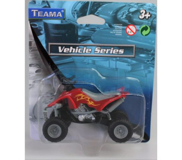 Teama Quad Bike with Suspension