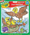 Crayola Color n Stick Book Baby & Me Just Hatched