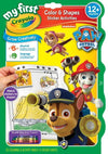 Crayola My First Color & Shapes Activity Book - Paw Patrol