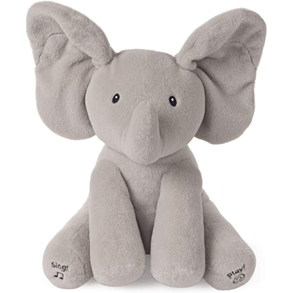 Baby Gund Flappy Sing & Play Elephant