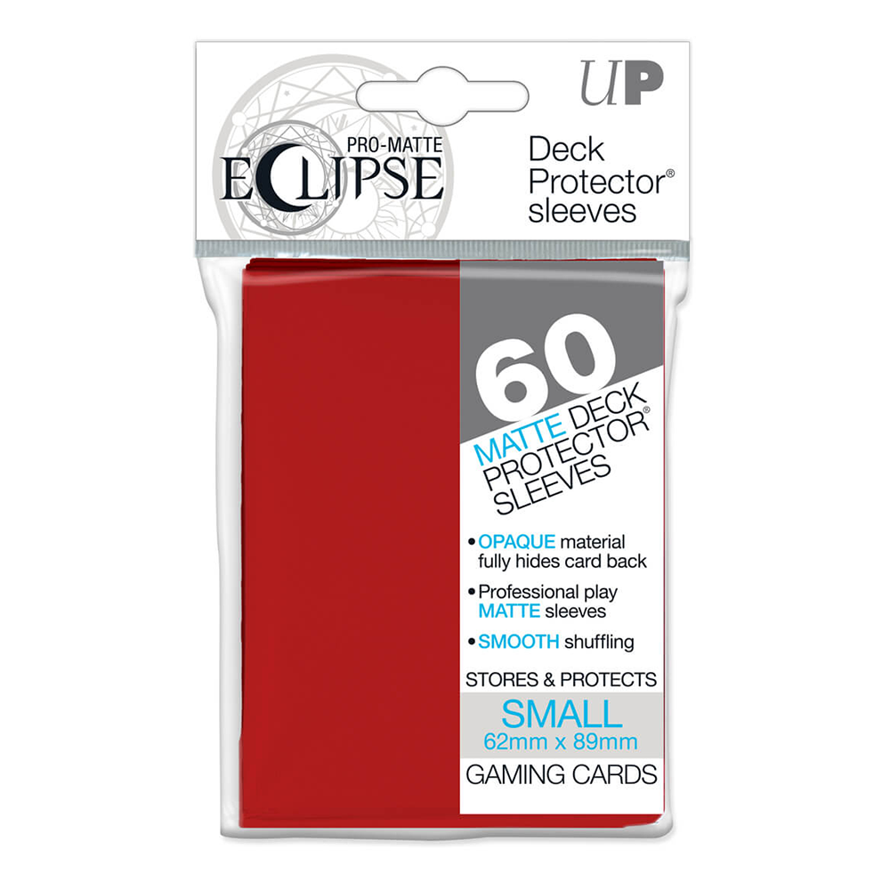 Ultra Pro 60 Small sleeve protectors Red