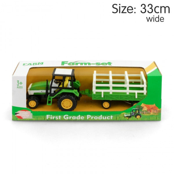 Mind Point Plastic Tractor and Trailer