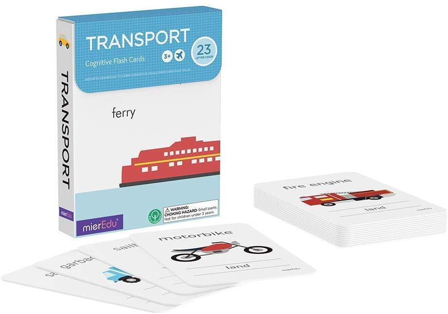Cognitive Flash Cards Transport