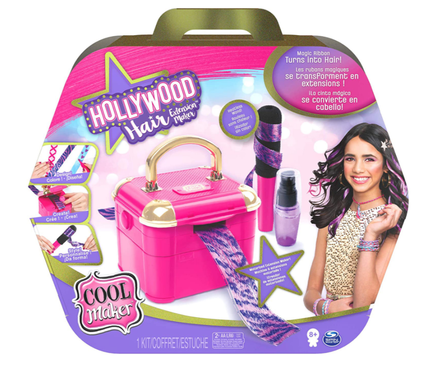 Cool Maker Hollywood Hair Studio Hair Extension Maker Requires 2xAA Batteries
