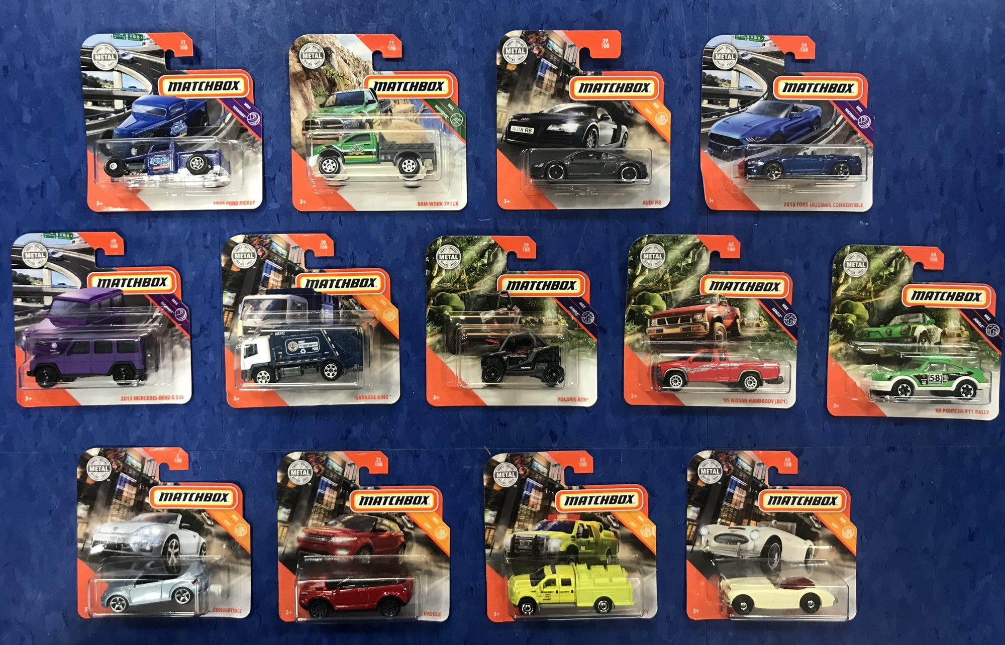 Matchbox Basic Car Collection Assorted