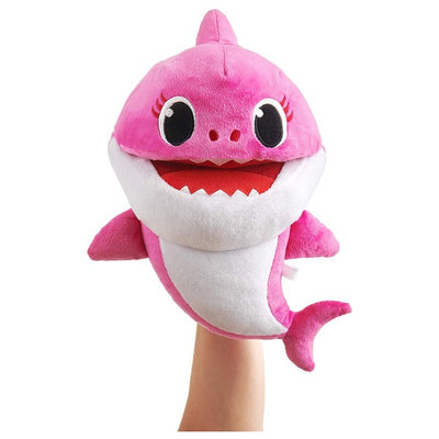baby shark singing puppet asst